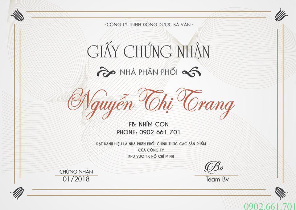 Đại lý Đông Y Bà Vân Thành phố Hồ Chí Minh