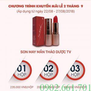 Son Thảo Dược Bà Vân - Lucky Lipstick