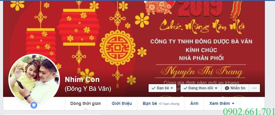 Facebook bán Kem Da Nang Ba Van