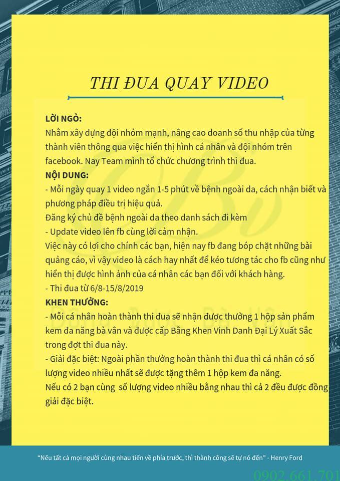 Đông Dược Bà Vân - Thi Đua Làm Video