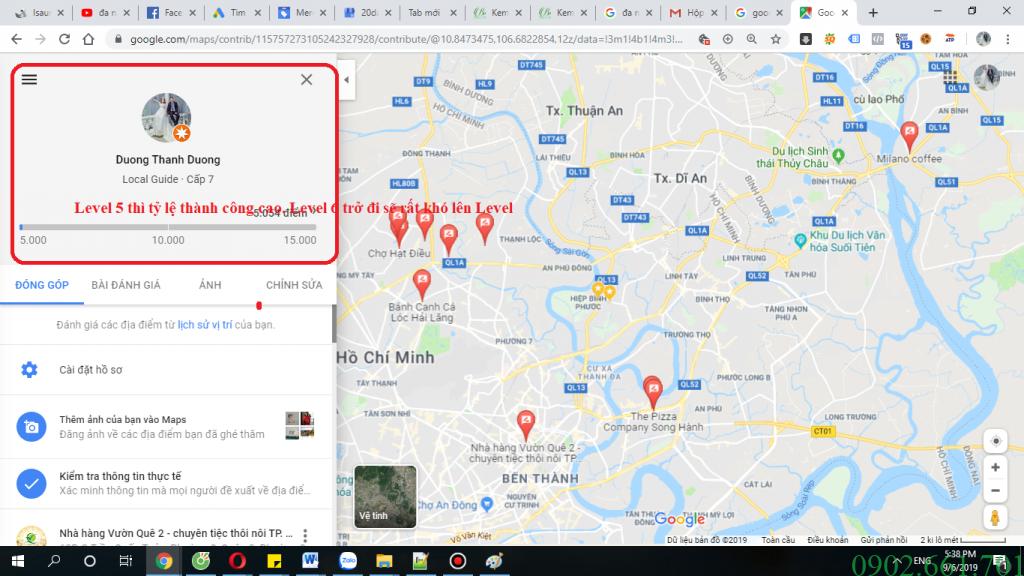 Level google maps